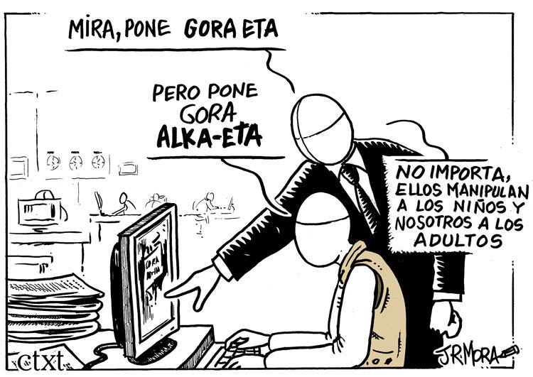 Viñeta Gora Alka-Eta